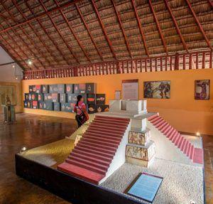 Museo de sitio calakmul campeche
