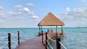 hotel carolina palapa a la orilla de la laguna de bacalar